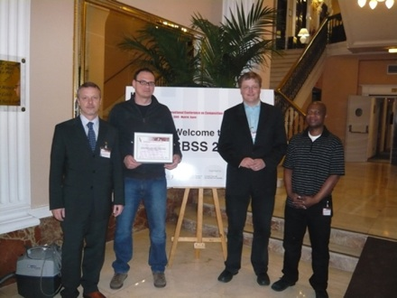 Picture taken at ICCBSS 2008 Madrid/Spain - Best Paper Award